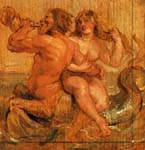 Rubens. Nereid and Triton. 1636